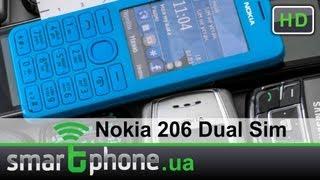 Nokia 206 Dual Sim - обзор(Видео обзор мобильного телефона Nokia 206 Dual Sim. Его преимущества: яркий дизайн, хорошая сборка, удобная клавиат..., 2013-03-15T12:55:40.000Z)