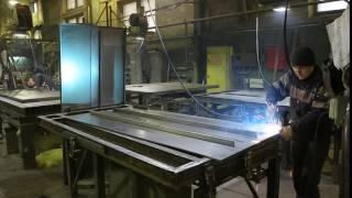 видео противопожарные алюминиевые двери
