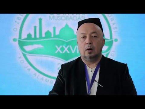 XХVI Республика Қорилар мусобақаси: Анвар қори Турсунов