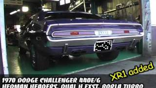 1970 Dodge Challenger Exhaust Sound ,Loud rev