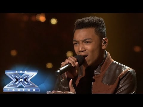 Josh Levi Performs When I Was Your Man  THE X FACTOR USA 2013