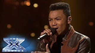 "Josh Levi Performs ""When I Was Your Man"" - THE X FACTOR USA 2013"