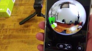 vuclip LG 360 Cam (Hardware Tour, Specs & App)