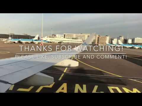 KLM Economy | Dublin - Amsterdam | Embraer 190