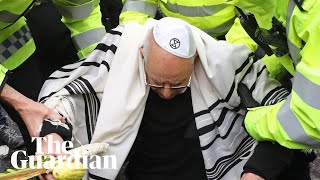 Rabbi, 77, arrested at Extinction Rebellion's Bank of England protest