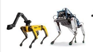 ボストン・ダイナミクスの四足歩行ロボット、10台でトラックを牽引 □米...