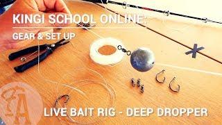 Kingi School Online: How to make a deep dropper live bait rig - FishingAdvisor.co.nz