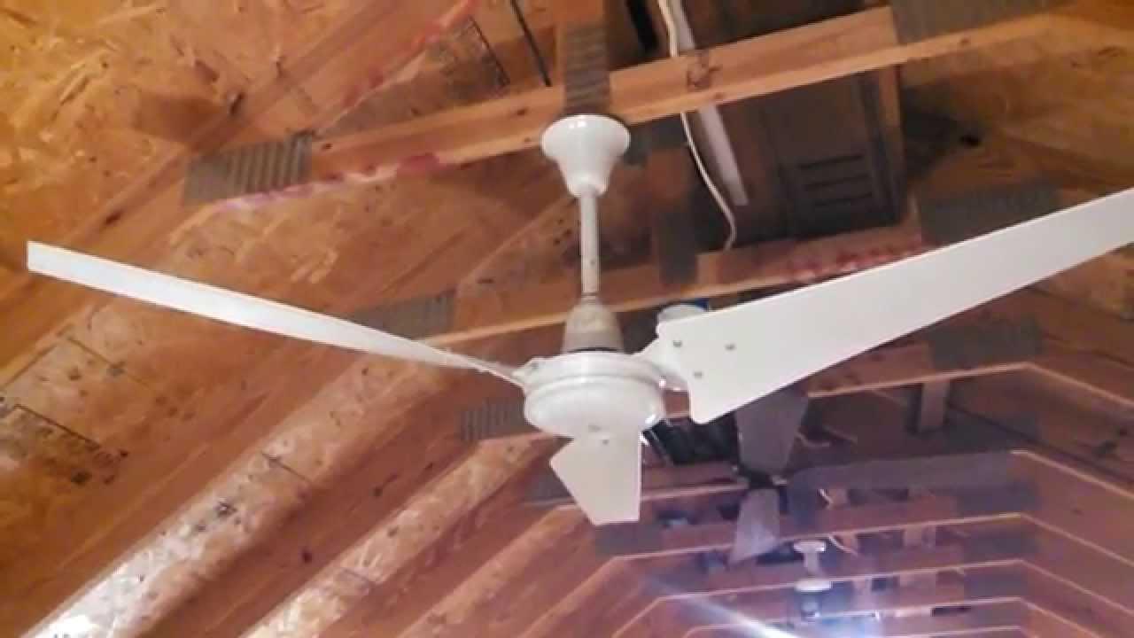 Envirofan Silver Line Industrial Ceiling Fan Model 60f 9 C
