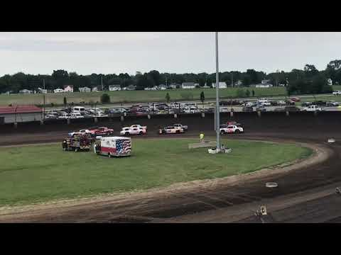 Kokomo Speedway Thunder Car Heat 1 June 23 2019