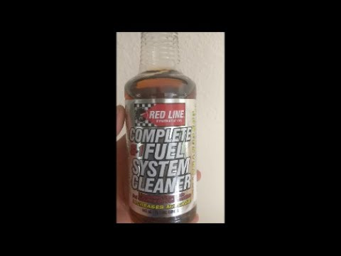 Redline Complete Fuel System Cleaner Tested and Results...Does it works?