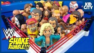 WWE Pokémon & Avengers Toys SHAKE RUMBLE Battle Compilation | KIDCITY