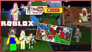 Roblox Find the Domos Gameplay! CUTE DOMO! See Desc for Location of Domos! LOUD WARNING!