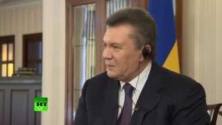 Янукович о посредниках соглашения 21 февраля(Отстраненный от власти президент Виктор Янукович в интервью журналистам AP заявил, что посредники при заклю..., 2014-04-02T15:35:06.000Z)