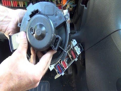 Cambio del motor soplador/ventilador de calefacción/calentador paso a paso
