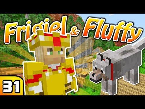 FRIGIEL & FLUFFY : On pimp le village | Minecraft - S6 Ep.31