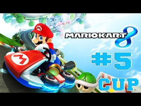 Mario Kart 8 - Walkthrough Part 5 Shell Cup 50cc [HD]