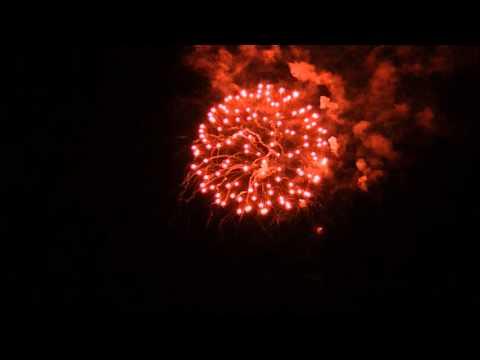 Port Stanley Canfest 2012 Fireworks