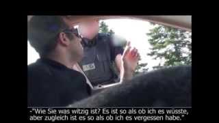 Hypnotiseur manipuliert Polizisten bei Verkehrskontrolle