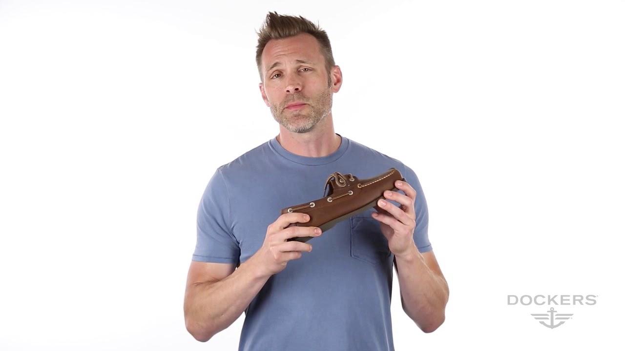 7382c62e3e322 Dockers® Vargas Boat Shoes - YouTube