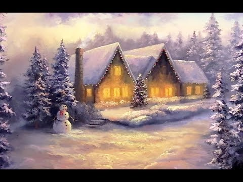Christmas Cottage  Paint with Kevin ®