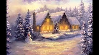 Christmas Cottage | Paint with Kevin ®
