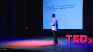 Kako predavati matematiku i programiranje: Goran Sukovic at TEDxPodgorica
