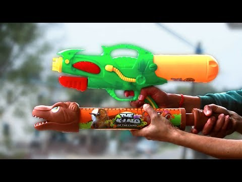 Holi Pichkari for Kids 2019 | Nice Water Guns Unboxing/Test Review