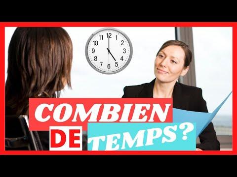 COMBIEN DE TEMPS DURE UN ENTRETIEN D'EMBAUCHE?✅