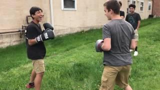 Pro vs amateur boxing UPSET!