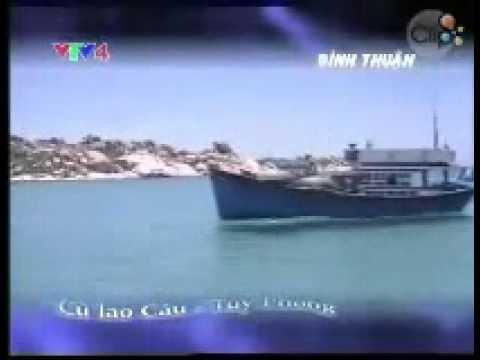 Lênh đênh trên Cù Lao Câu Tuy Phong   Bình Thuận   Clip vn