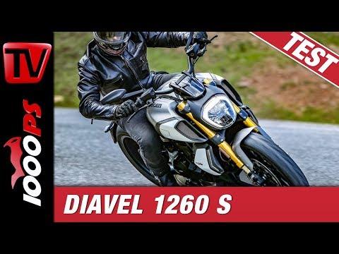 Ducati Diavel 1260 S Test - Teuflisch gut? - neues Design, neues Elektronikpaket, mehr Dampf!