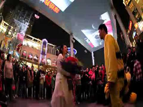 The most romantic Marriage Proposal in Beijing