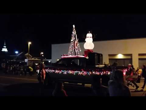Christmas parade Panama city 12/3/16