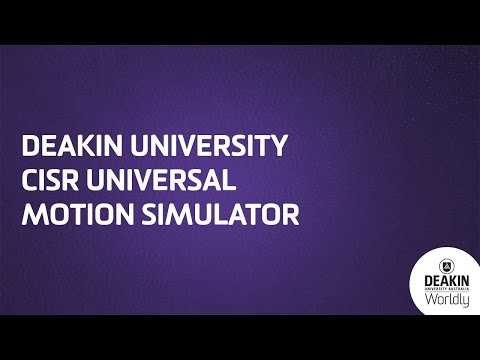 Deakin University CISR Universal Motion Simulator