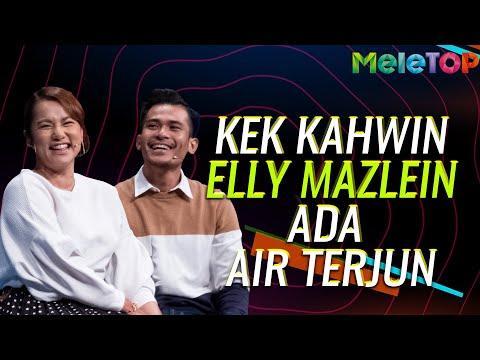 Kek Kahwin Elly Mazlien ada air terjun | MeleTOP | Nabil Ahmad & Nora Danish