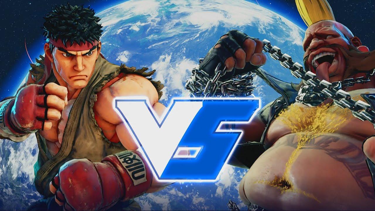 Street Fighter 5 Ryu vs Birdie - oh the lag - SF5 [Beta] - YouTube