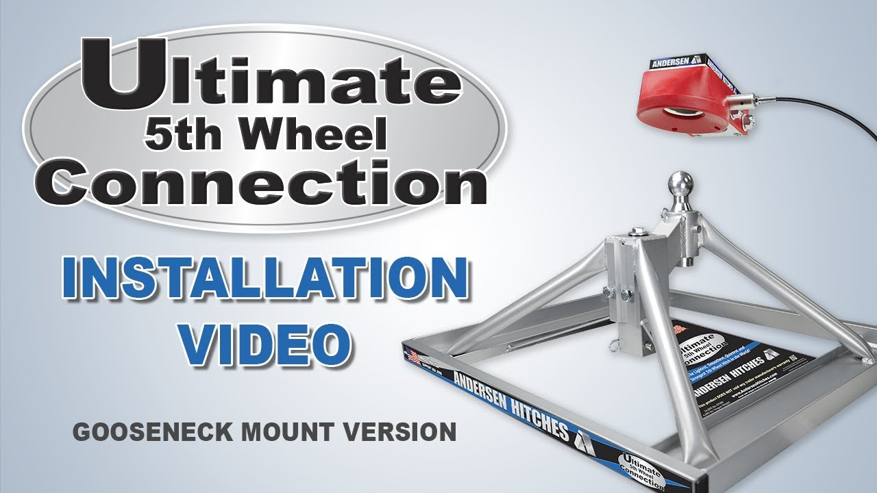 Ultimate 5th Wheel Connection Installation Andersen Hitches Youtube Anderson Trailer Wiring Diagram