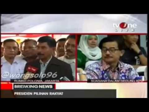 Pernyataan resmi Ketua Tim Koalisi Merah Putih Prabowo hatta Yunus Yosfiah atas keputusan PRABOWO