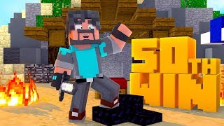 My 50th Win In Minecraft Bed Wars