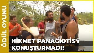 Hikmet Yunan Yarışmacıyı Çıldırttı! - Survivor 60. Bölüm