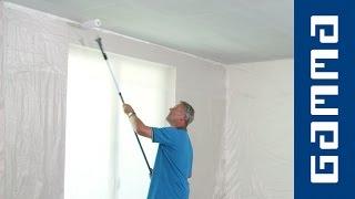 Plafond van gipsplaten schilderen | GAMMA