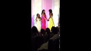 Miss District Of Columbia USA 2016 Crowning Moment