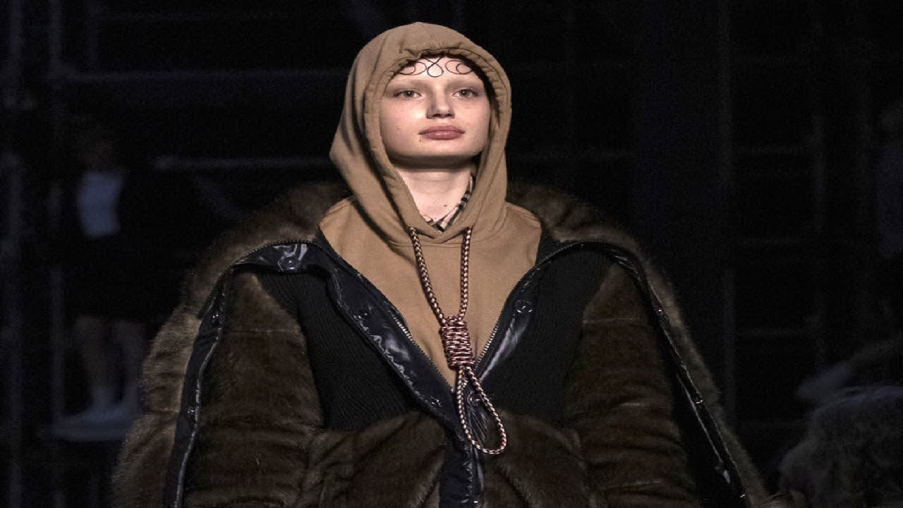 Burberry Apologizes After Model Wears Noose Hoodie During London Fashion Week