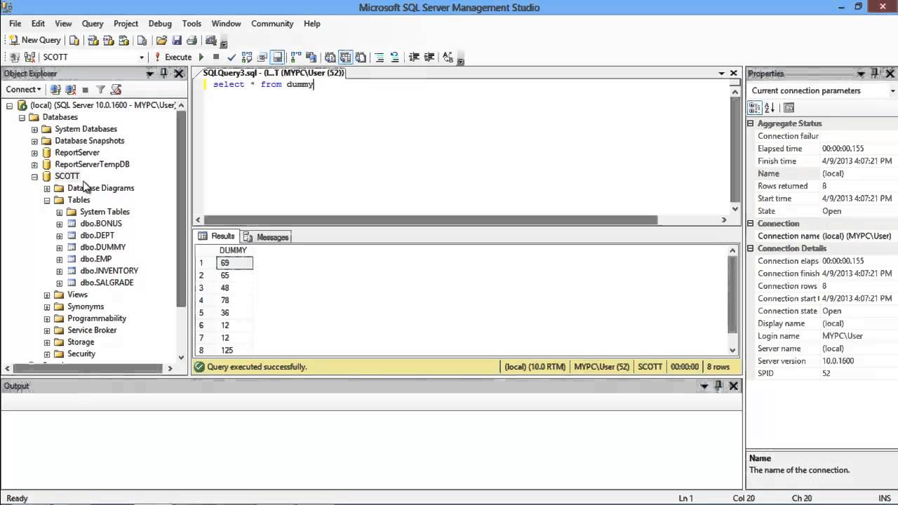 How To Truncate Table In Sql Youtube