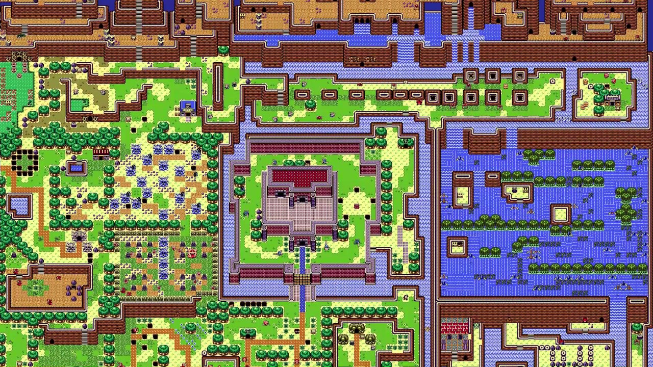 The Legend Of Zelda Link S Awakening Live Map