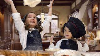 Кулинарный мастер класс для детей. Ресторан Дом Макарон. Готовим пирожное и домашние конфеты.
