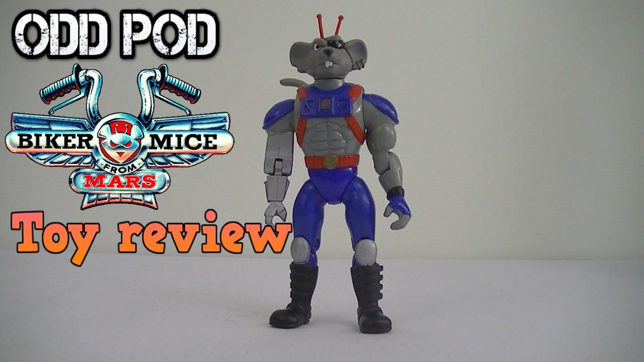 Modo - Biker mice from mars - Toy review | Odd Pod - YouTube