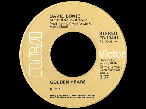 David Bowie ~ Golden Years 1975 Disco Purrfection Version