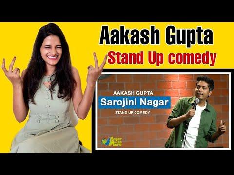 Sarojini Nagar | Excuse Me Brother | Aakash Gupta | Aakash Gupta Reaction | Mansi Shail Reaction
