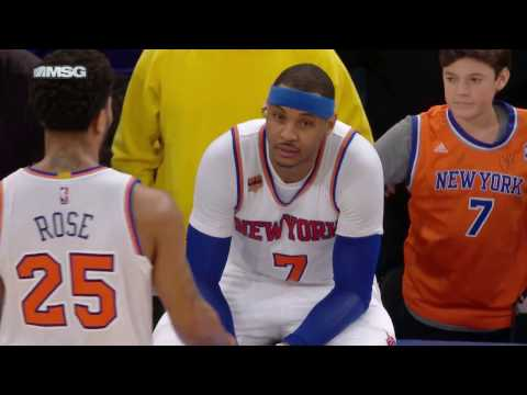 Phoenix Suns vs New York Knicks | January 21, 2017 | NBA 2016-17 Season